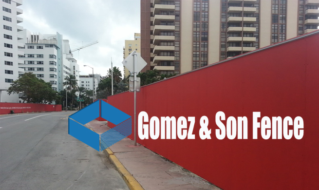 Rent a Fence Miami