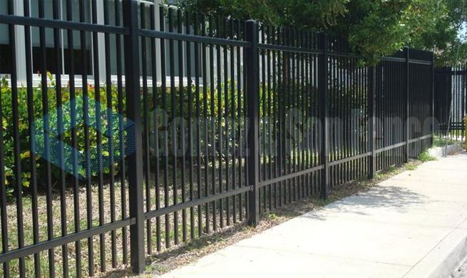Commercial Aluminum Fence Company Miami