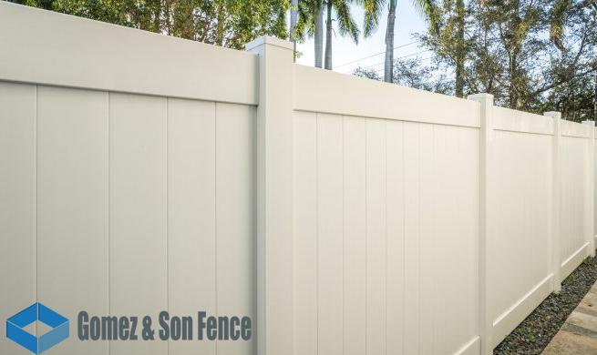 Vinyl Fence Miami