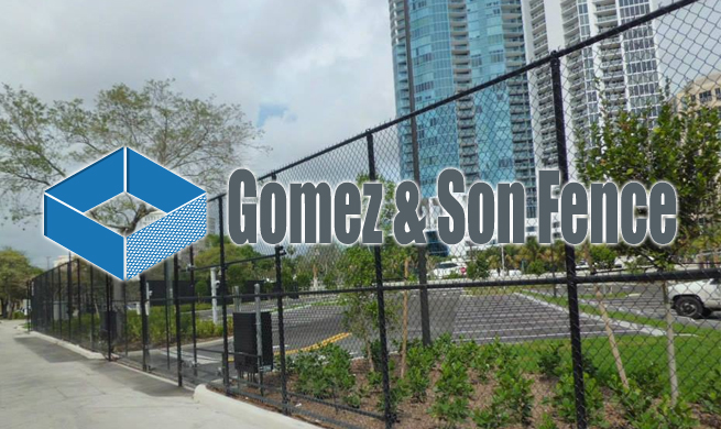 Chain Link Fence Installation Miami