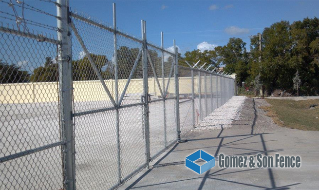 Commercial Fence Miami FL