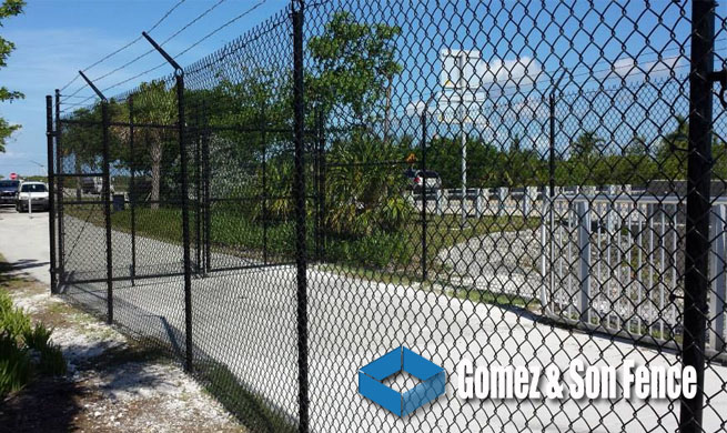 Chain Link Fence Contractors Miami