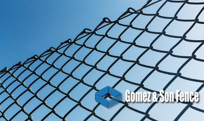 Chain-Link is the Most common Fence